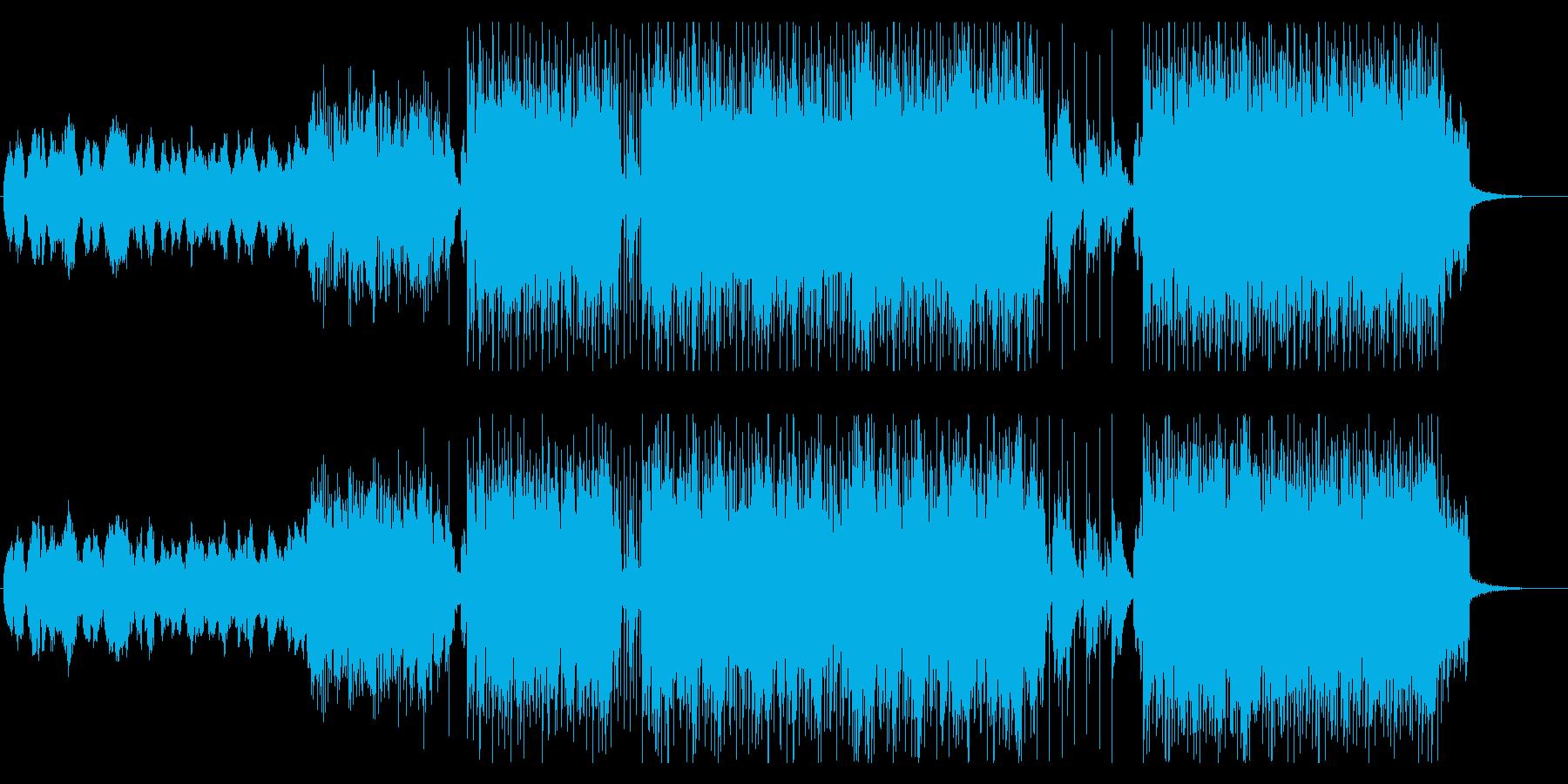 バッドエンド_宗教音楽チックな雰囲気の再生済みの波形