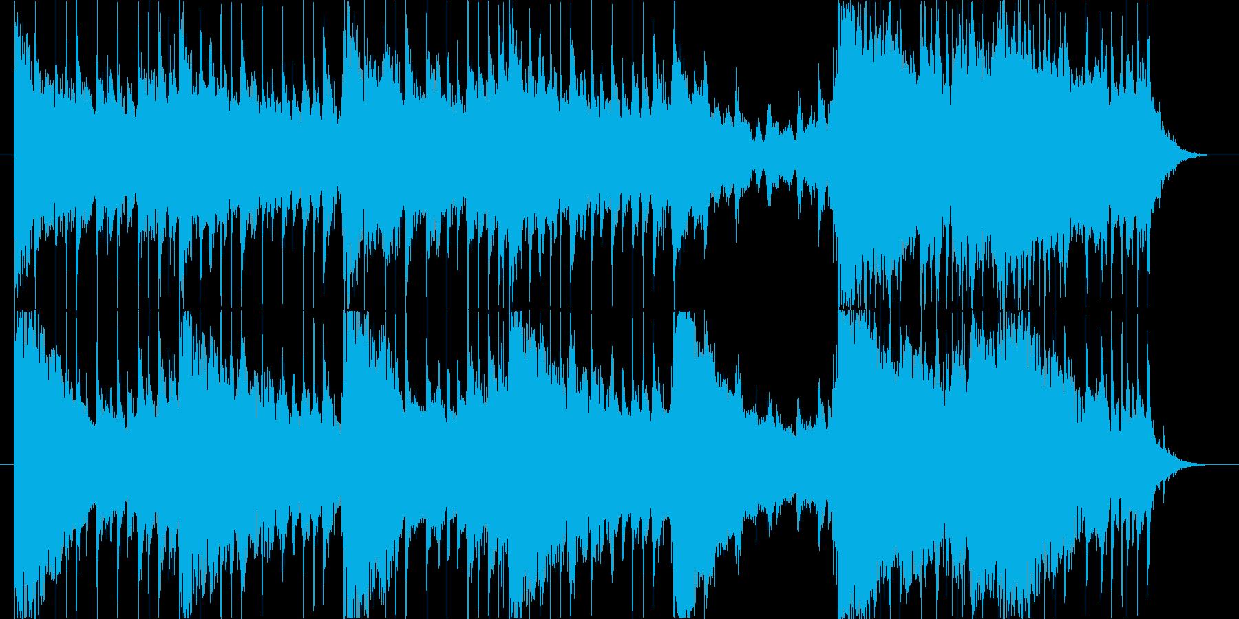 適度に明るい、軽いロック/ギターロ...の再生済みの波形