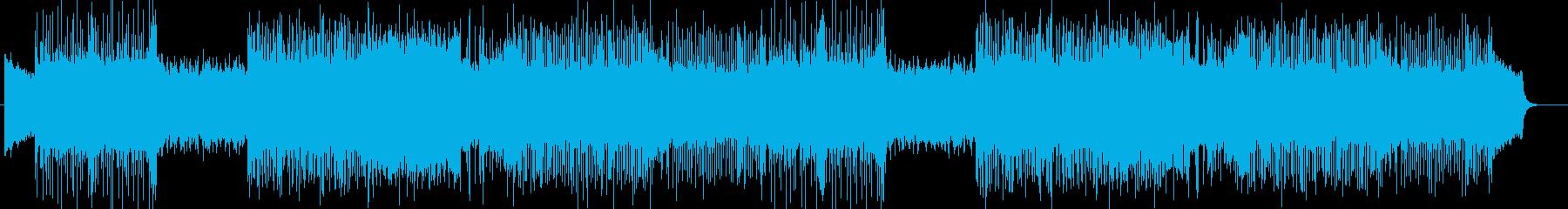 ダーク、ヘヴィメタル系の曲 BGM260の再生済みの波形