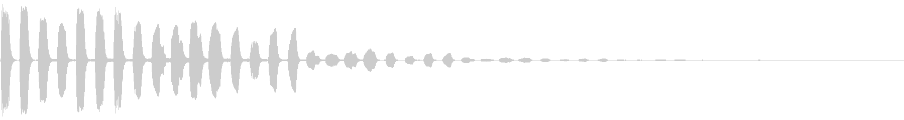 未来的・決定・空気感・取得12の未再生の波形