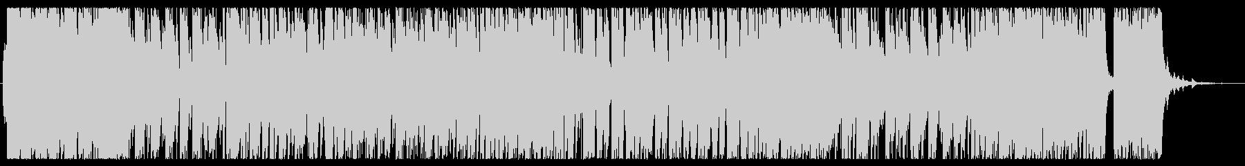朝をイメージした軽快で明るいピアノ曲の未再生の波形