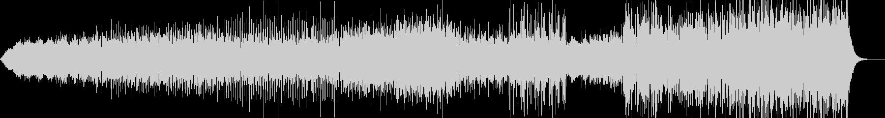 アンビエントフューチャーポップの未再生の波形