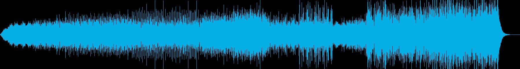 アンビエントフューチャーポップの再生済みの波形