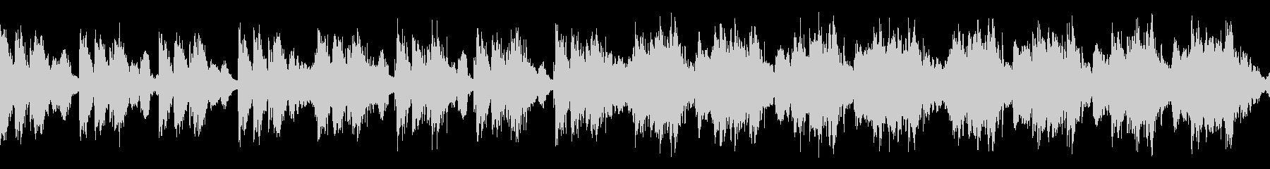 緊張感のあるオーケストラ/速め ループの未再生の波形