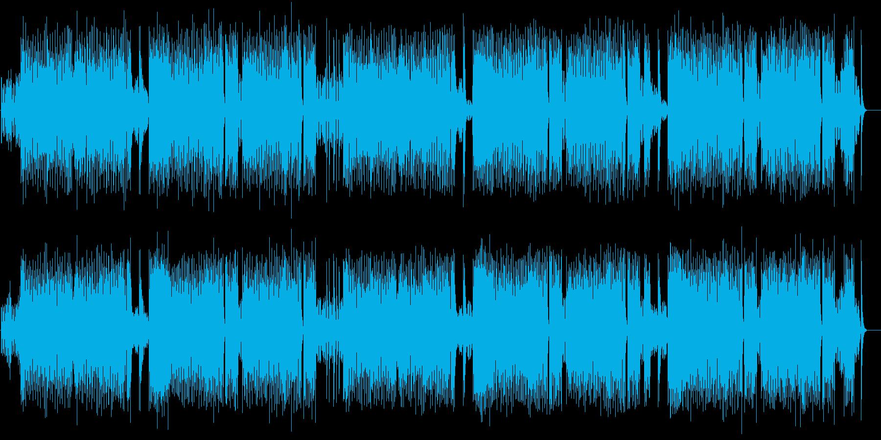 フォックストロットリズムのチャールストンの再生済みの波形