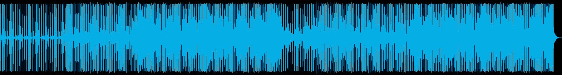涼しげなディープハウス_No615_1の再生済みの波形