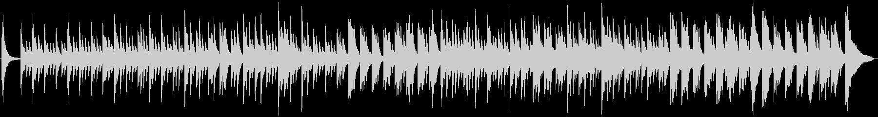しっとりピアノのインテリアミュージックの未再生の波形