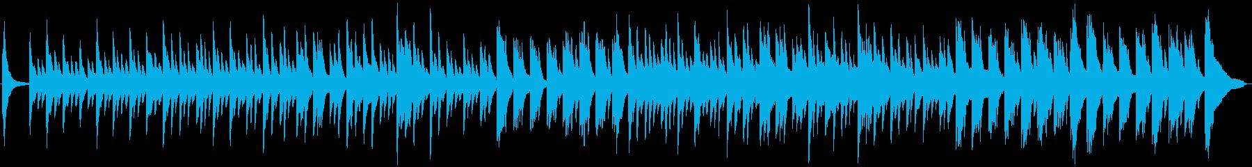 しっとりピアノのインテリアミュージックの再生済みの波形