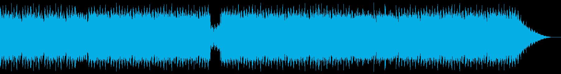 ダークなダンスの再生済みの波形