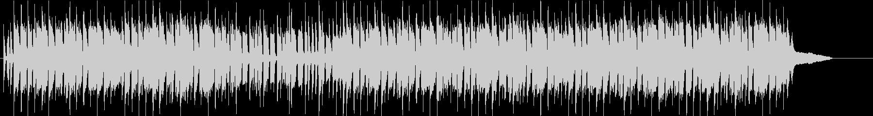 バンジョー・フィドルの楽しく明るい曲の未再生の波形