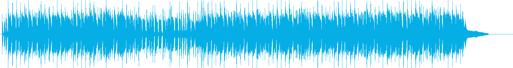 バンジョー・フィドルの楽しく明るい曲の再生済みの波形