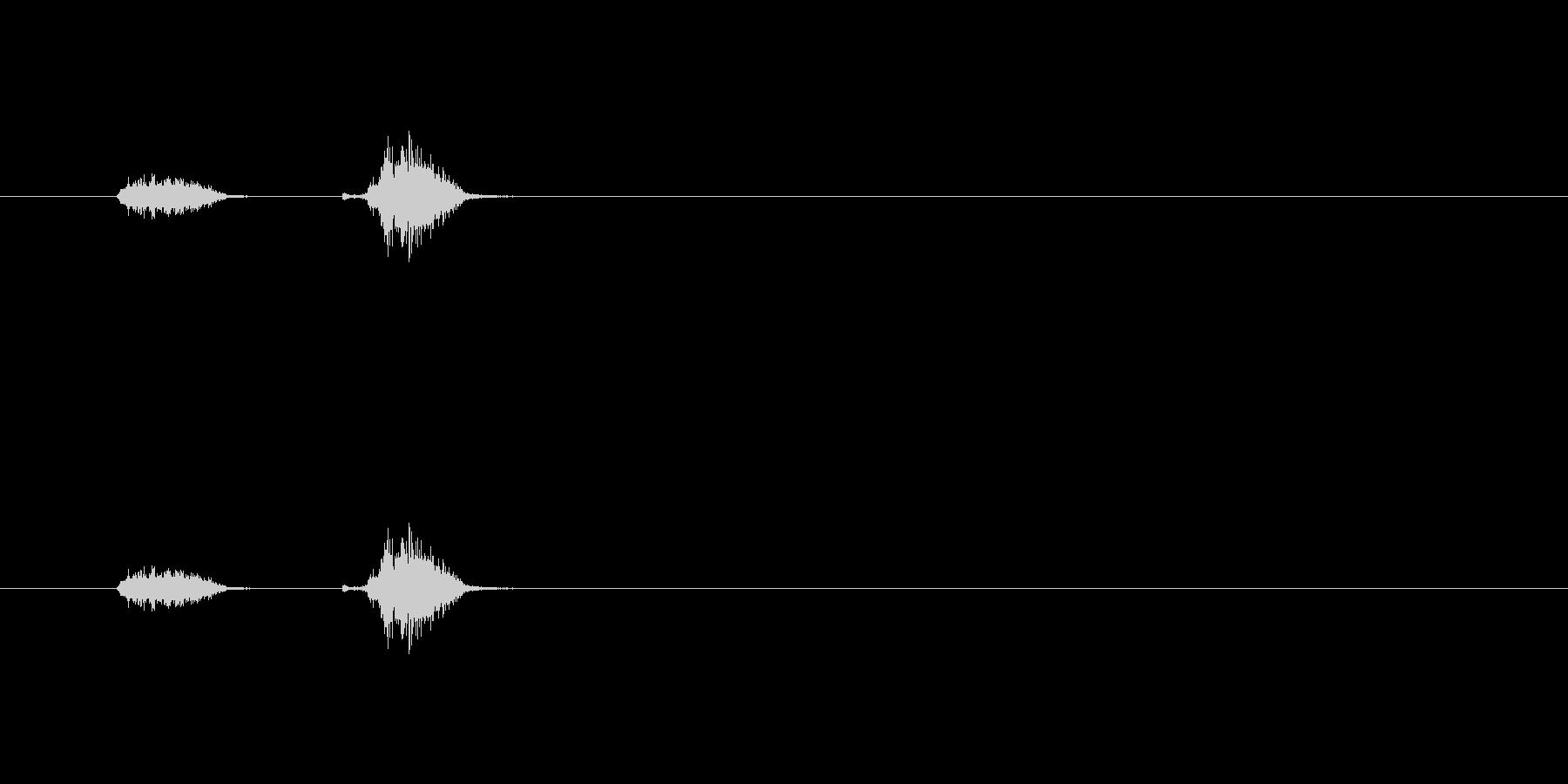 【シャープペン01-08(チェック)】の未再生の波形