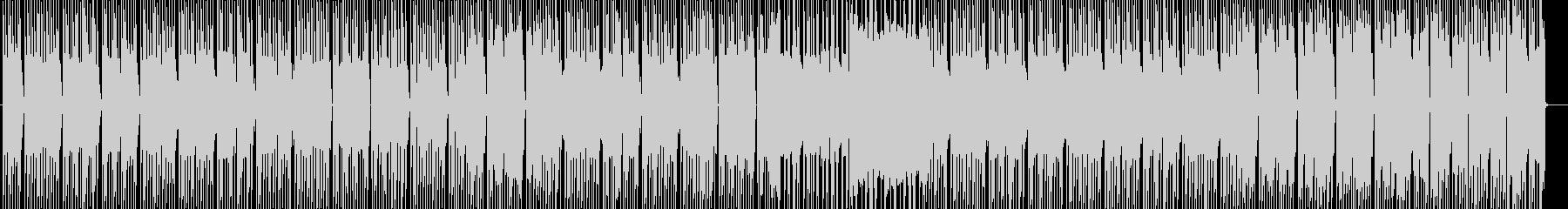 コンプ感、シンプル、ピアノ、シンセの未再生の波形