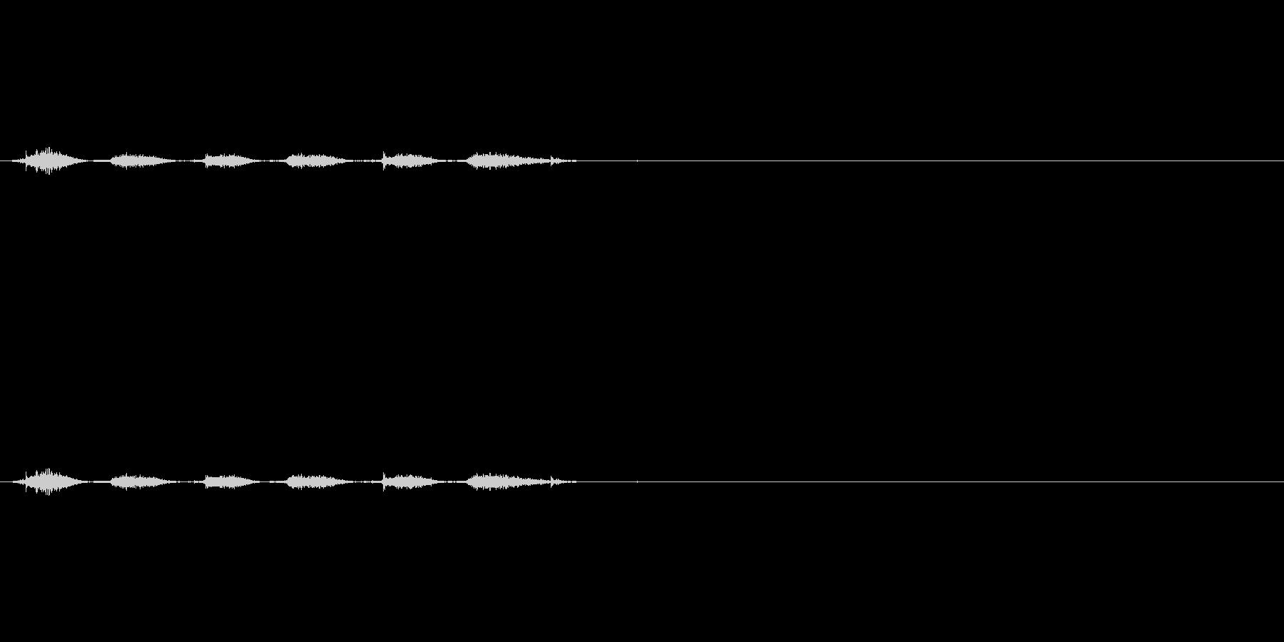 チェックボックスオフ(消しゴム)_01の未再生の波形