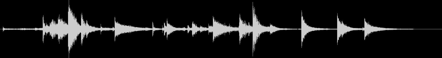 鎖・チェーンの効果音 06の未再生の波形
