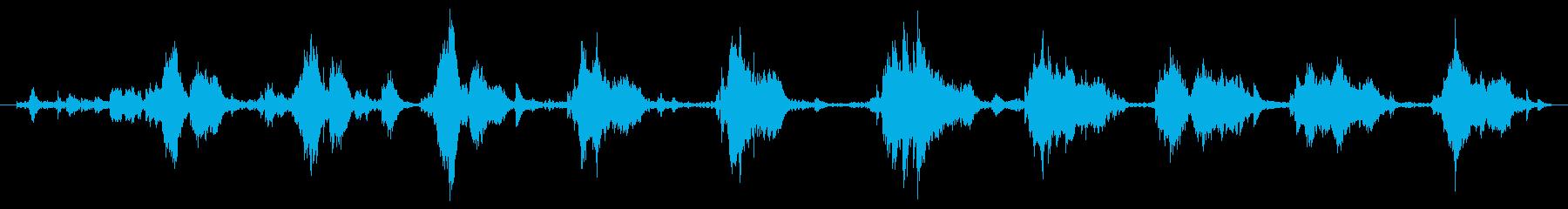 遊び場 トランポリン01の再生済みの波形