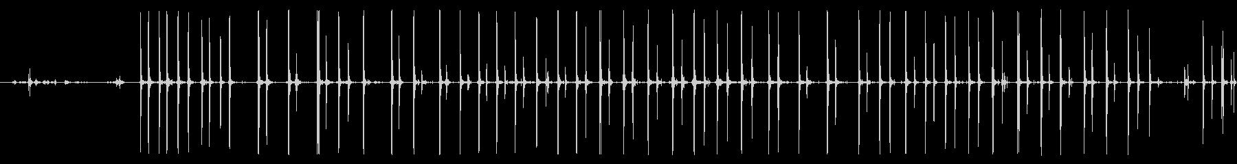 フォリー・フットステップ、スローウ...の未再生の波形