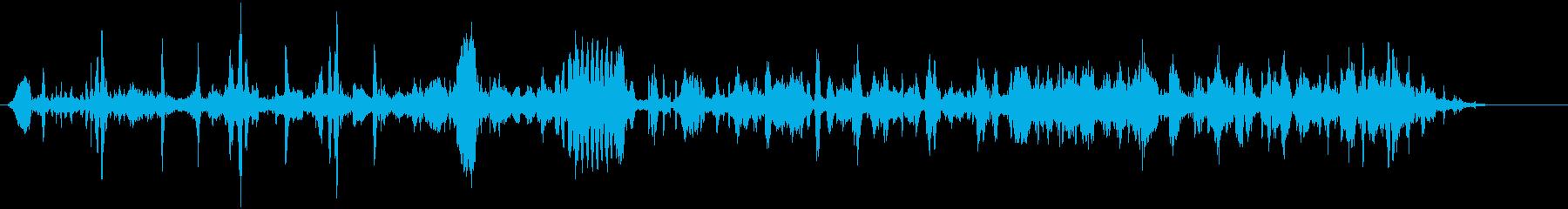 鳩の再生済みの波形