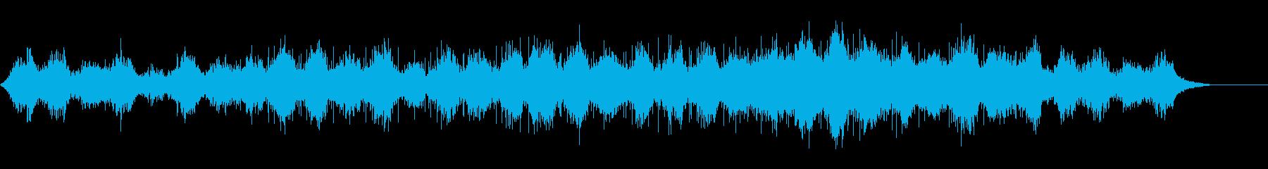 神秘的なレクイエムの再生済みの波形