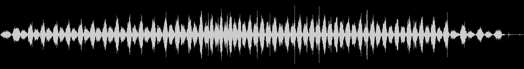 クロスカットソー:2 x 4のソー...の未再生の波形