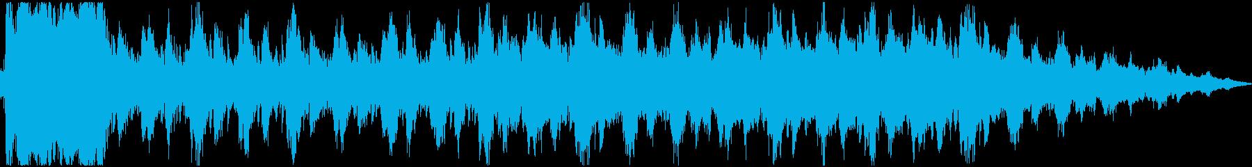 勝利のファンファーレ(ファンタジー系)の再生済みの波形