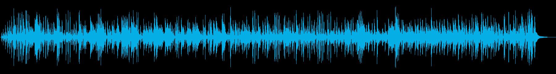 ボサノバジャズピアノしっとり軽やかお洒落の再生済みの波形