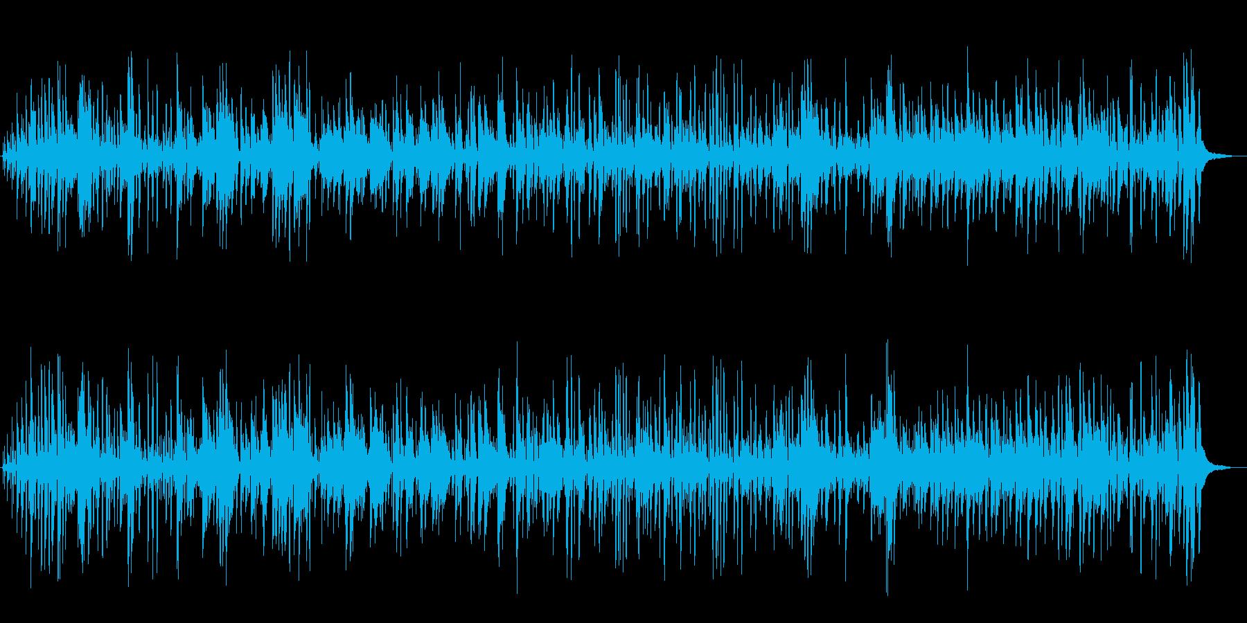 しっとり軽やかお洒落ボサノバジャズピアノの再生済みの波形