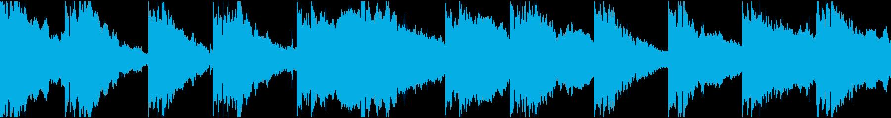渦巻くアンビエントシンセは、まばら...の再生済みの波形