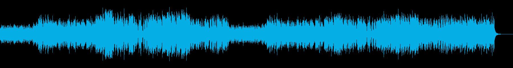 コロナウィルスの不安をエレピでの再生済みの波形