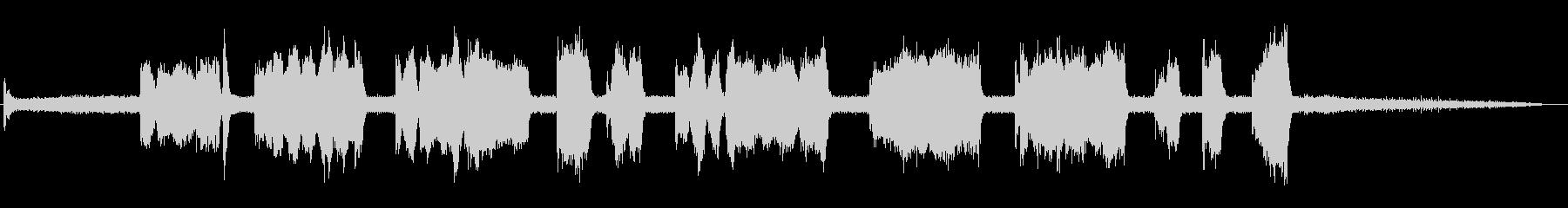 アングルグラインダー-研削金属の未再生の波形