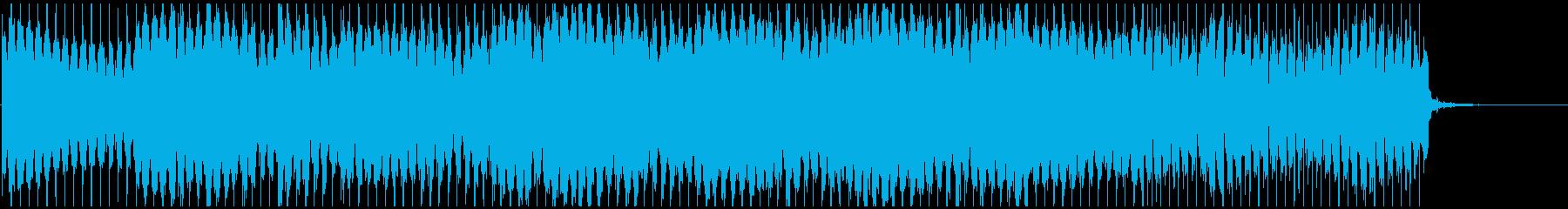 ノリノリな和風テクノ 篠笛生演奏×電子音の再生済みの波形