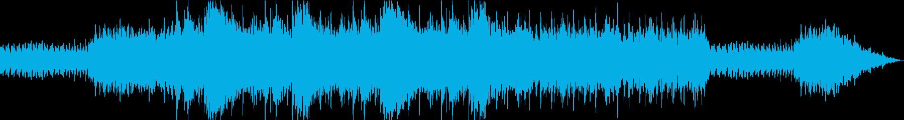 悲しい過去を想起させるBGMの再生済みの波形