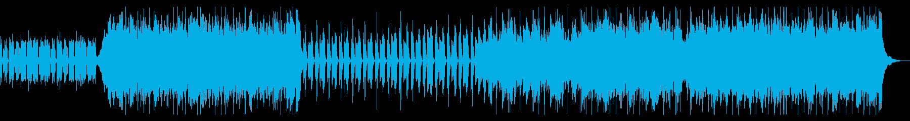ノリのいいビート/少し切ないメロディーの再生済みの波形