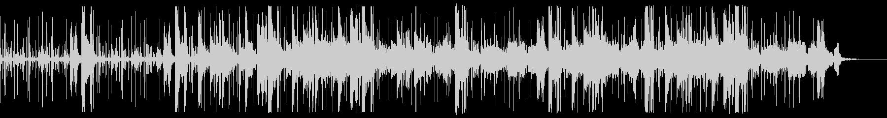 電子音・エレクトロニカ 悲壮的あるピアノの未再生の波形