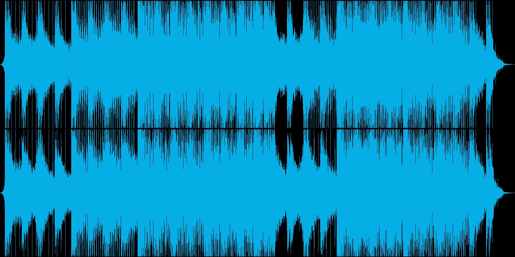 ポップ テクノ モダン ハウス ダ...の再生済みの波形