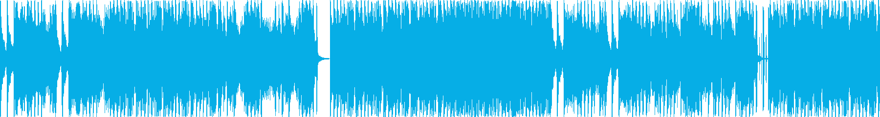明るいテクノポップです。の再生済みの波形