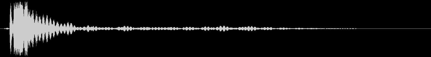 ビール開ける音(短め)の未再生の波形