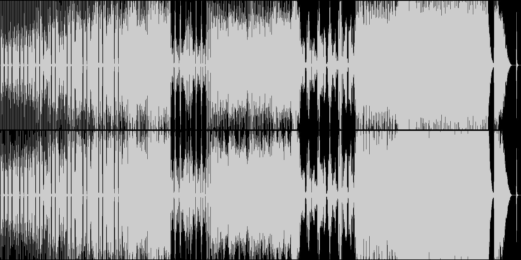 切ない歌詞のゆったりしたポップス の未再生の波形