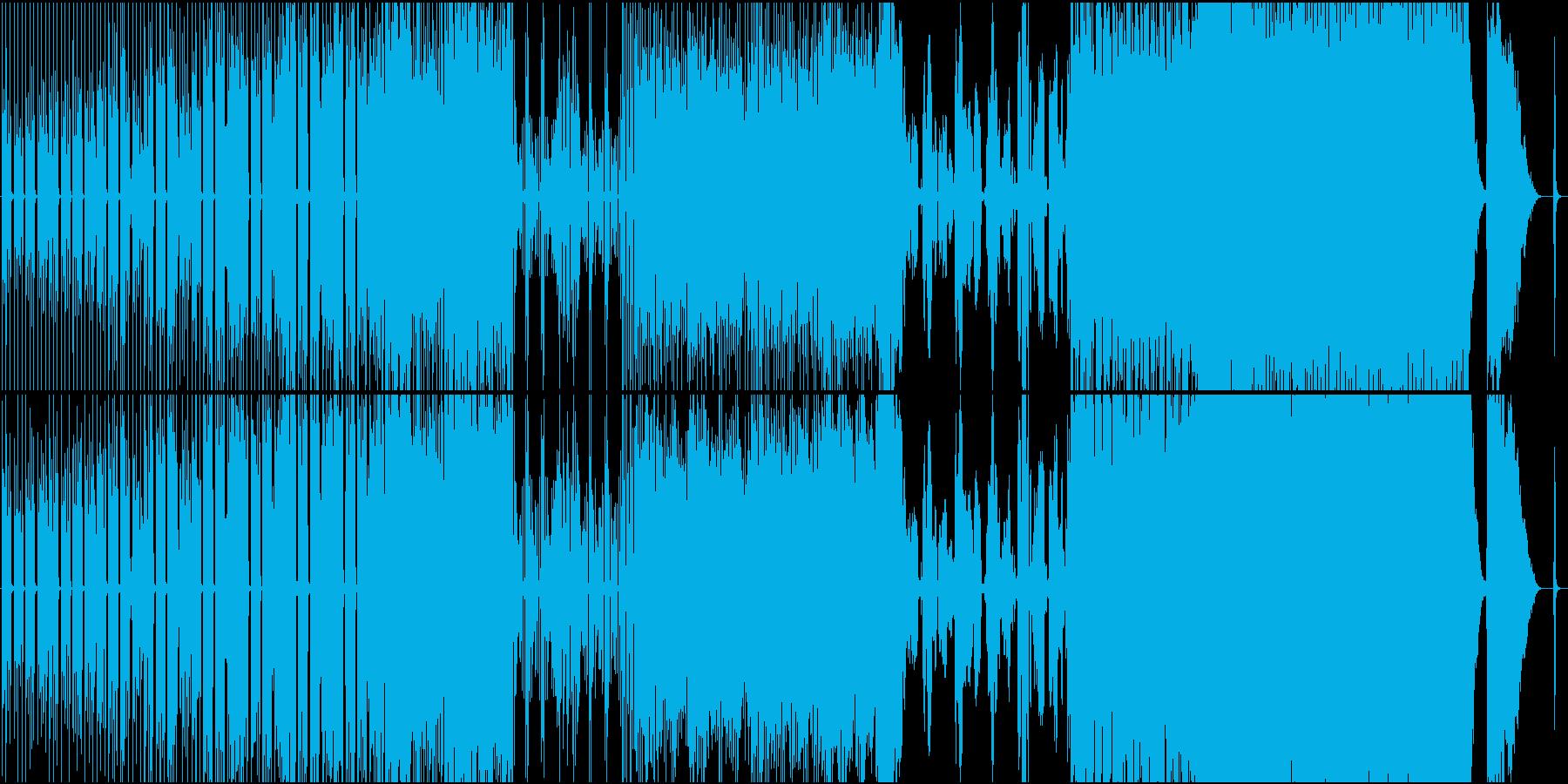 切ない歌詞のゆったりしたポップス の再生済みの波形