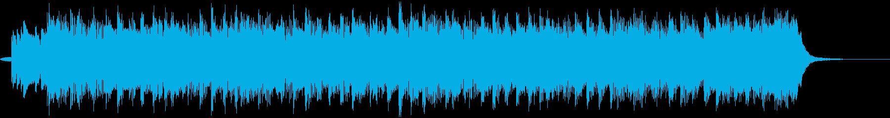 オバケやハロウィンに合うショートBGMの再生済みの波形