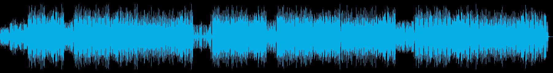 聞くだけで心が躍るケルト音楽の再生済みの波形