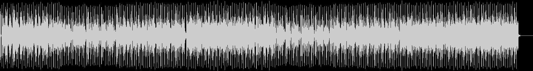 しっとりしたノリの良いバラードBGMの未再生の波形