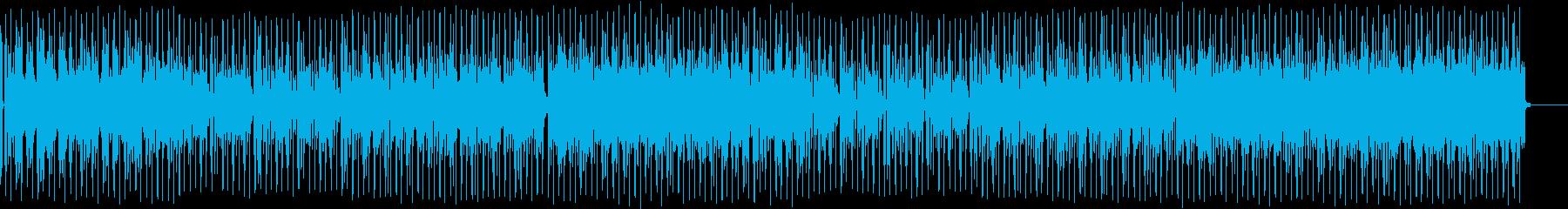 しっとりしたノリの良いバラードBGMの再生済みの波形