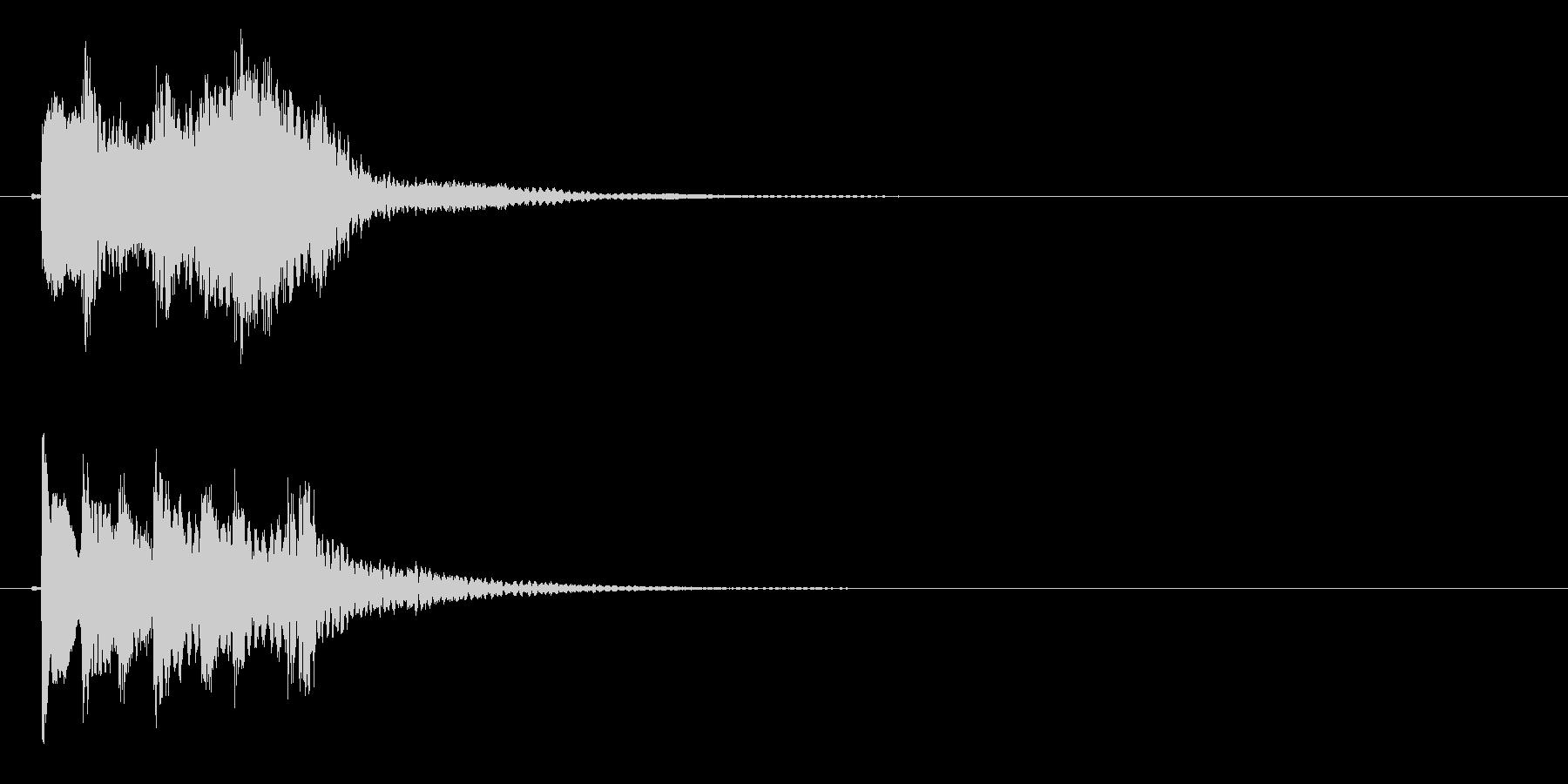 琴のフレーズ2☆調律1☆リバーブ有の未再生の波形