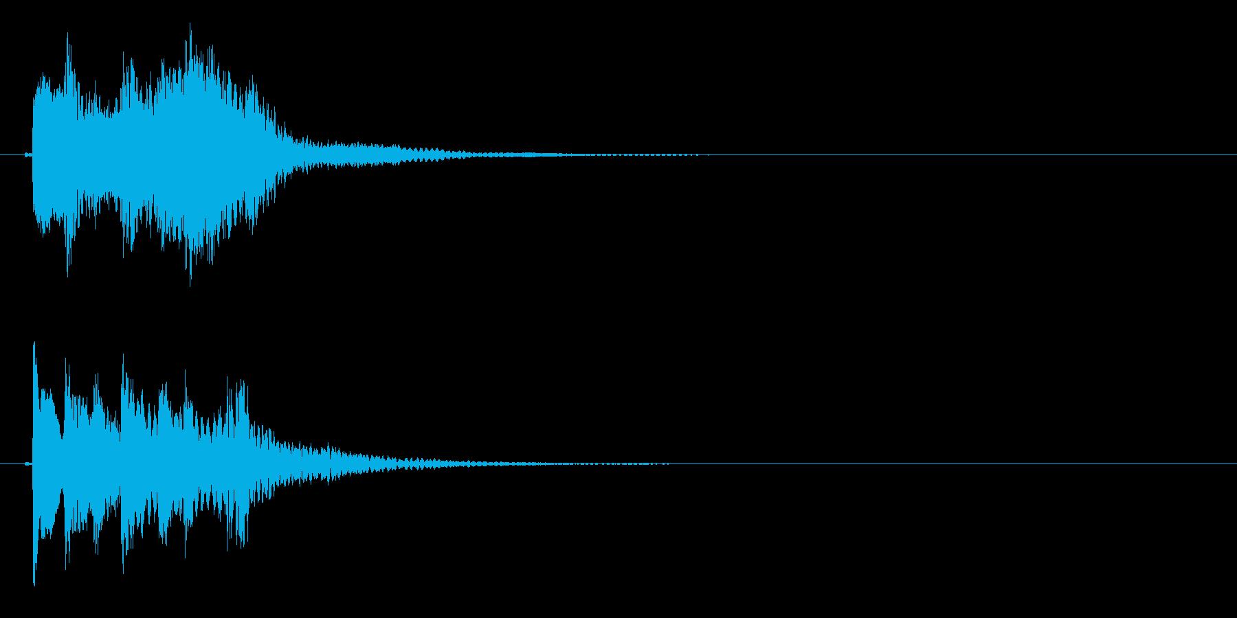 琴のフレーズ2☆調律1☆リバーブ有の再生済みの波形