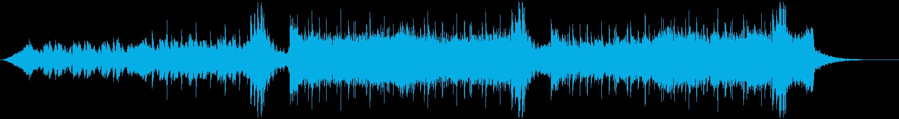 シネマチックで疾走感あるクールなロックの再生済みの波形