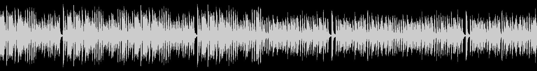 レトロピアノでお洒落なジャズ名曲(ループの未再生の波形