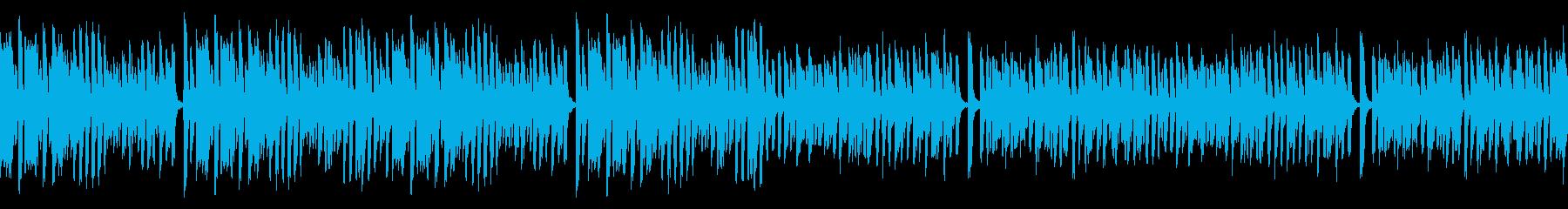 レトロピアノでお洒落なジャズ名曲(ループの再生済みの波形