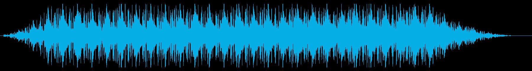 グルーブ感強 lo-fi hip-hopの再生済みの波形
