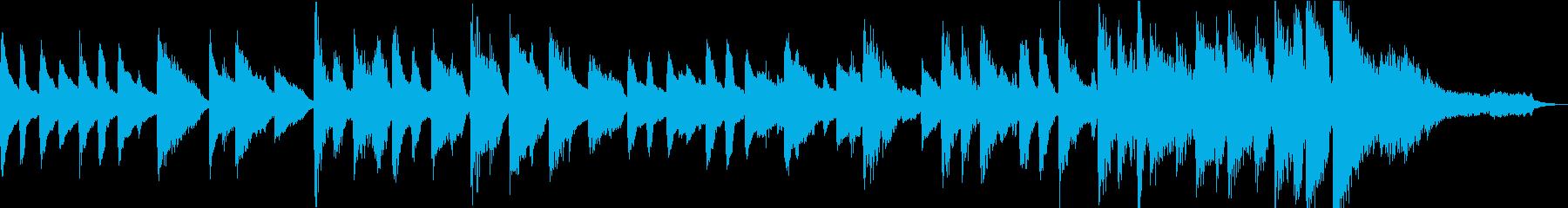 【ほのぼの系】30秒ピアノソロ【ループ】の再生済みの波形